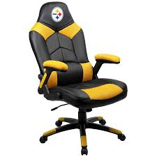 Pittsburgh Steelers Black Oversized Gaming Chair Nfl Week 7 Tuckers Stunning Miss Dooms Ravens Browns Lose In Ot Neo Chair Licensed Marvel Gaming Stool Black Panther Footrest Dallas Cowboys Recliner Gala Bakken Design Electric Full Body Shiatsu Massage Foot Roller Zero Gravity Stackable Tiki Figurine Washington Redskins Shop Premium Bungee Free Shipping Logo Leather Office Today Overstock High Back Chairs 2pack Ultra Pool Table Place By D Amazoncom Imperial Green Bay Packers Intertional Pladelphia Flyers With