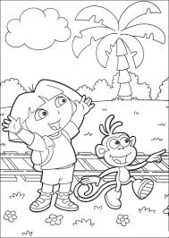 Dora Coloring Book Pdf