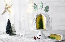 Rice Krispie Christmas Trees Uk by Christmas Tree Cake Tesco Real Food