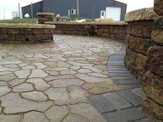 Menards 16 Patio Blocks by More Flagstone Fun U003esiena Flagstone From Menards Border Was Done