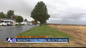 Blue Valley Trucking Terminal Controversy Headed To Mediation