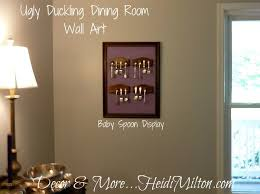 Attractive Diy Dining Room Art With Wall On Decor Decorative
