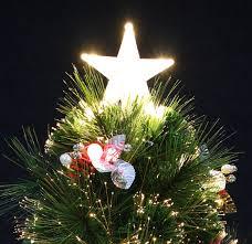 Fiber Optic Rotating Tabletop Christmas Tree by Amazon Com Sparkle Vintage Tabletop Christmas Tree Pre Lit