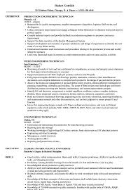 Engineering Technician Resume Samples