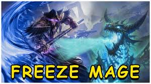 hearthstone freeze mage knights of the frozen throne youtube