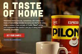 Free Sample Of Cafe Pilon