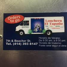 100 Big Truck Taco Menu El Tapatio Taco Truck Home Milwaukee Wisconsin Prices