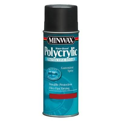 Minwax 34444 Water-Based Polycrylic Spray - Semi Gloss, 11.5oz