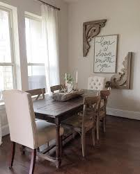 Dining Room Table Decorating Ideas by Best 25 Dining Wall Decor Ideas On Pinterest Dining Room Wall