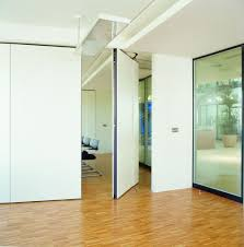 Movable Wall For Home And Office Fascinating Removable With White Sliding Door Parquet