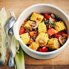 cuisiner des epis de mais épis et poulet rôtis spécial pouletvores oui le magazine de