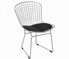 100 Modern Metal Chair Mid Century S Chrome Dining S Leatherette Seat