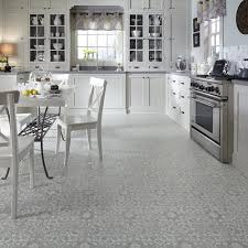 Tile Flooring Ideas For Kitchen by Vintage Ornate Design Inspiration Resilient Vinyl Floor For