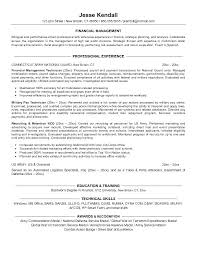 Resume Examples For Finance Professionals As Well Sample Objectives Of Best Ideas