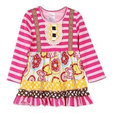 toddler pink polka dot dress