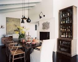 Modern Country Dining Room Ideas by Funky Dining Room Ideas Wishbone Mid Century Wood Dining Chair