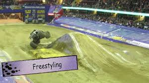 Monster Jam Cleveland - 2014 - YouTube