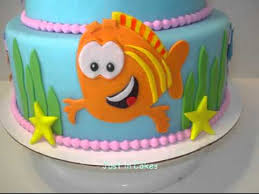 Bubble Guppies Cake Decorations by Bubble Guppies Cake Youtube