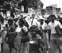 Image Photo Of The Civil Rights March On Washington Taken August 28 1963