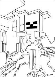 Free Printable Coloring Minecraft Pages 66 For Your Download With
