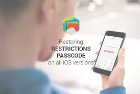 How to recover iPad and iPhone Restrictions Passcode from an