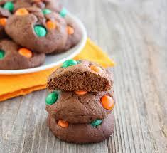 Pumpkin Spice Mms Canada by Chocolate Pumpkin Spice M U0026m Cookies Kirbie U0027s Cravings