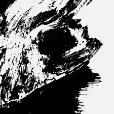 Abstract Tidepool With Driftwood Black And White Photo Based Art On Canvas
