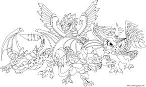 Dragon City Official Coloring Pages