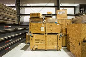 A162 03546 Crates In Warehouse