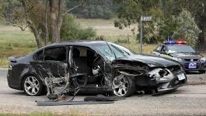 Driver Injured In Myrtleford Crash   The Border Mail