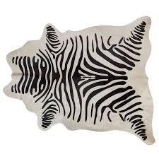 Zebra In Profile Poster DIGITAL ZOO