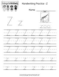 Z Worksheet Free Worksheets Library
