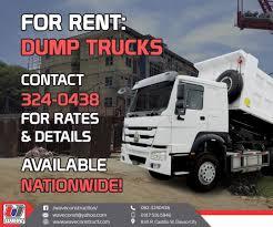 100 Rent A Dump Truck Waveconstructionph Hash Tags Deskgram