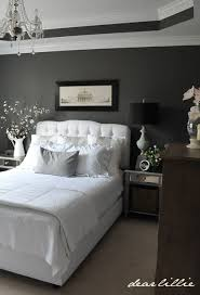 Dear Lillie Master Bedroom Perfect Combination Black Gray And White