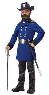California Costumes Union General Ulysses S Grant Boy Costume One Color X