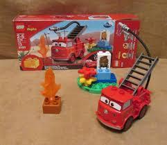 6132 Duplo Lego Red Complete Disney Pixar Cars Original Stanley ...