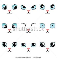 cat eye template cat stock images royalty free images vectors