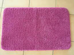 badematte blau gelb oder orange gelb bad teppich 80x150