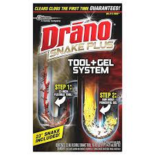 amazon com drano snake plus tool gel system health personal care