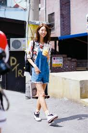Asia Street Style Overalls Are Back Why Theyre A Fashion