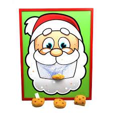 Santas Cookies Bean Bag Toss Game