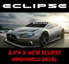 """1 Eclipse Decal 4""""x40"""