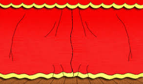 rideaux sepctacle scène théatre artiste gifs animés