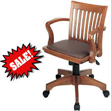 Amazon.com : Bankers Desk Chair With Arm Rests Brown Wooden With ... 90 Off Blue Upholstered Office Chair Chairs Heydon Fully Upholstered Office Chair No Arms Jk Fniture Baldridge Swivel Desk Bernie Phyls Wicker Midback Walnut Wood Conference In Black Leather Homestead Lacquered Lorry Modern Classic Beige Cedar Armrest Amazoncom Bankers With Arms Adjustable Height Mentor Office Chair Nuans Smudge Buckeye Rockers Deck With Solid Art Inc Contemporary Casters
