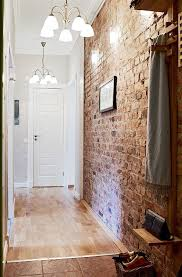30 trendy brick wall ideas for entryways digsdigs