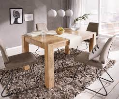 esszimmertisch indra akazie natur 140 240x90 cm massivholz ausziehbar esstisch