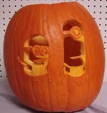 Pumpkin Carving Minion by Minions 2012 Pumpkin Carving Gallery