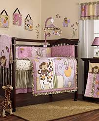 amazon com jacana 6 piece baby crib bedding set by cocalo baby