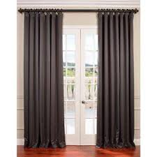 Light Filtering Thermal Curtains by Thermal Curtains U0026 Drapes Window Treatments The Home Depot