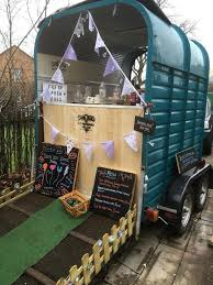 Vintage Catering Trailer Horse Conversion Coffee Weddings Prosseco Gin Bar